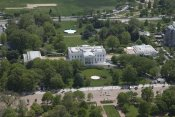 Carol Highsmith - Aerial view of the White House, Washington, D.C.