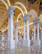 Carol Highsmith - Great Hall, second floor, north. Library of Congress Thomas Jefferson Building, Washington, D.C.