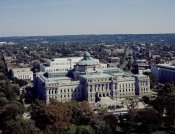 Carol Highsmith - View of the Library of Congress Thomas Jefferson Building from the U.S. Capitol dome, Washington, D.C.