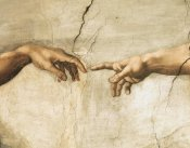 Michelangelo - Creation of Adam (detail)