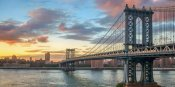 Anonymous - Manhattan Bridge at sunset, NYC