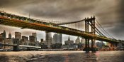 Vadim Ratsenskiy - Manhattan Bridge and New York City Skyline, NYC