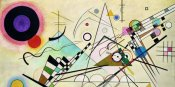 Wassily Kandinsky - Composition VIII (detail)