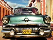 Gasoline Images - Vintage American car in Habana, Cuba