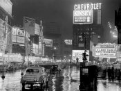 Anonymous - Times Square at night, NYC, 1951