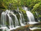 Frank Krahmer - Waterfall Purakaunui Falls, New Zealand