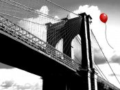 Masterfunk collective - Balloon over Brooklyn Bridge