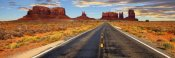 Vadim Ratsenskiy - Road to Monument Valley, Arizona