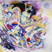 Wassily Kandinsky - Improvisation Painting
