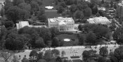 Carol Highsmith - Aerial view of the White House, Washington, D.C. - Black and White Variant