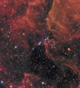 Hubble Space Telescope - Wide View of Supernova 1987A