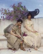 Sir Lawrence Alma-Tadema - An Eloquent Silence