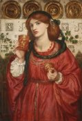 Dante Gabriel Rossetti - The Loving Cup, 1867