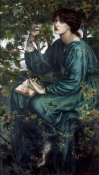 Dante Gabriel Rossetti - The Day Dream, 1880