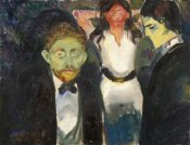 Edvard Munch - Jealousy, 1907