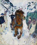 Edvard Munch - Galloping Horse, 1910-1912
