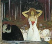 Edvard Munch - Ashes, 1895