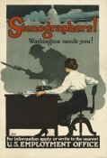 Roy Hull Still - Stenographers! Washington Needs You!, ca. 1918