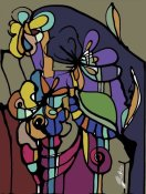 Joan Elan Davis - Stained Glass Bouquet