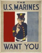 Charles Buckles Falls - The U.S. Marines Want You, 1914/1918