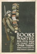 Charles Buckles Falls - Books Wanted for our Men in Camp and Over There, 1918/1923
