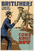 Lloyd Myers - Britishers, You're Needed--Come Across Now, 1917