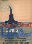Eugenie DeLand - Sunrise or Sunset, Own a Liberty Bond, 1917