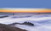 Jenny Qiu - The Golden Gate Bridge in the Fog