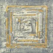 Albena Hristova - Gold Tapestry I Gold and White