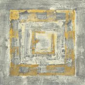 Albena Hristova - Gold Tapestry II Gold and White