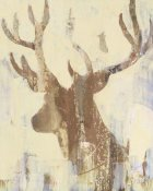 Albena Hristova - Golden Antlers II Neutral Grey