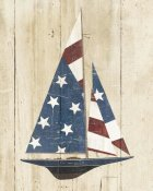 Avery Tillmon - American Flag Sailboat