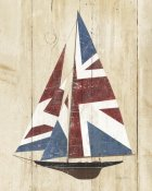 Avery Tillmon - British Flag Sailboat