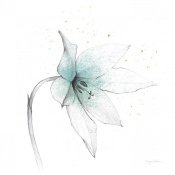 Avery Tillmon - Teal Graphite Flower VIII