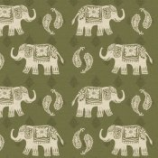 Daphne Brissonnet - Woodcut Elephant Patterns