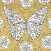 Daphne Brissonnet - Color my World Butterfly I Gold