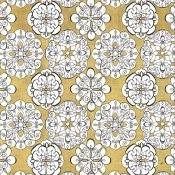 Daphne Brissonnet - Color my World Kolam Pattern Gold