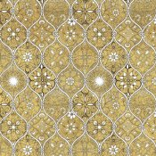 Daphne Brissonnet - Color my World Spice Mosaic Pattern Gold