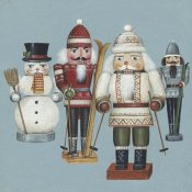 David Carter Brown - Skier Nutcrackers