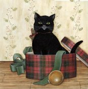 David Carter Brown - Christmas Kitty IV