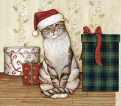 David Carter Brown - Christmas Kitty III