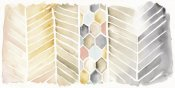 Elyse DeNeige - Watercolor Chevron Crop