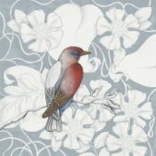 Elyse DeNeige - Arts and Crafts Birds I Tone on Tone