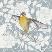 Elyse DeNeige - Arts and Crafts Birds IV Tone on Tone