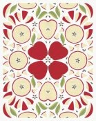 Elyse DeNeige - Retro Apple Otomi