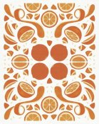 Elyse DeNeige - Retro Orange Otomi