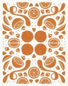 Elyse DeNeige - Retro Orange Otomi Monotone
