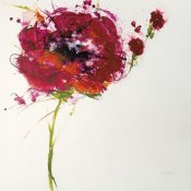Jan Griggs - Poppy Master on White