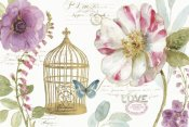 Lisa Audit - Rainbow Seeds Floral Birdcage I