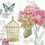 Lisa Audit - Rainbow Seeds Floral Birdcage II